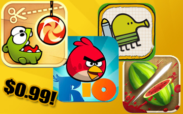 4 Awesome iOS Games For A Dollar