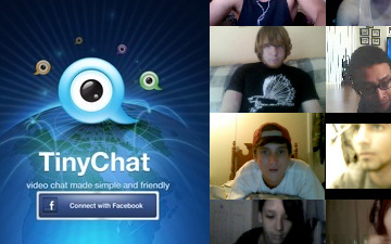 TinyChat for iOS Allows Video Chat With 12 Facebook Friends