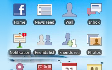 Access Facebook Wall, Inbox, and More From Your Android Homescreen