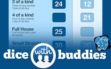 Dice With Buddies Multiplayer Yahtzee for iOS